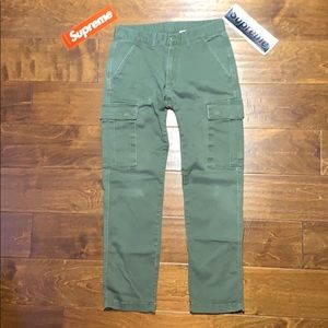 Active Ride Shop Pants - SOLD ARCHIVE Figgy skateboarding green cargo pants
